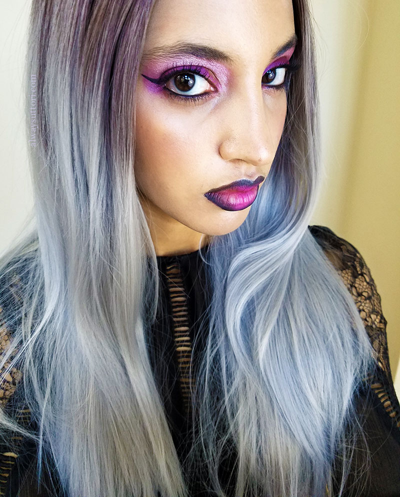 Pastel Goth Morticia. Photo Credit: Mechelle Avey. Alwaysuttori.com.