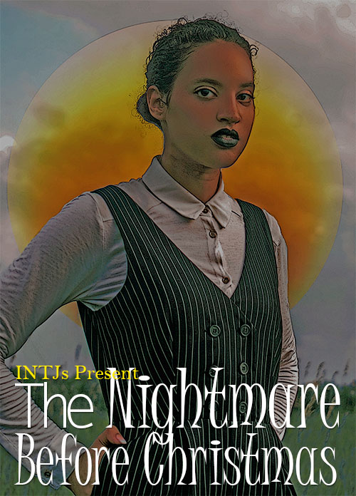 INTJ nightmare Before Christmas Poster. Photo Credit: Mechelle Avey. Alwaysuttori.com