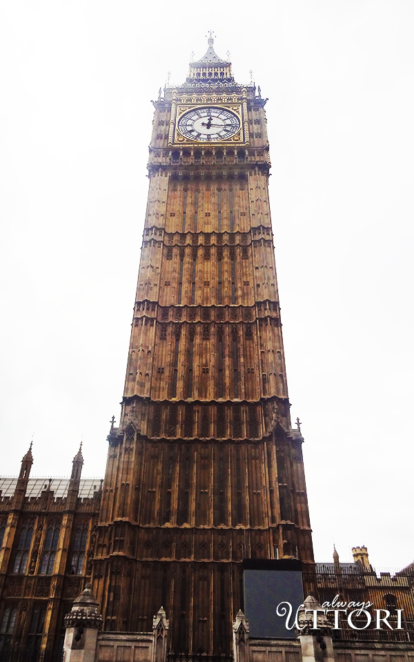 Big Ben, London, 2014. Photo Credit: Always Uttori. London Calling: 3 days in London, Always Uttori Travel Diaries. Alwaysuttori.com