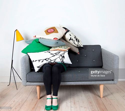 Woman Buried Under Pillow. Photo Credit: Muriel de Seze - 538883013. gettyimages.com. INTJ Mastermind: A Theory of States. Alwaysuttori.com.