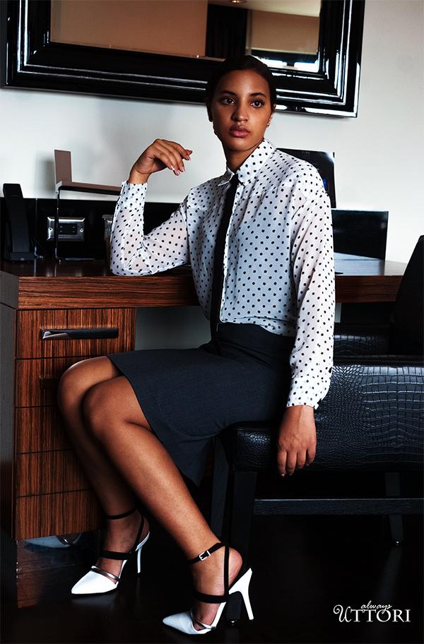 Girl Boss Fierce, L6, P1. Photo Credit: Mechelle Avey. Spring Fashion, Girl Boss Fierce, Look 6. Alwaysuttori.com
