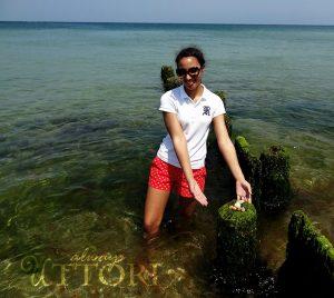 Martha's Vineyard, posing on the beach, always uttori, alternate universe, travel