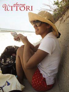 Martha's Vineyard, sitting on the beach, always uttori, alternate universe, travel