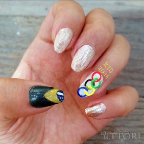 Hola! Rio. Olympic 2016 Nails