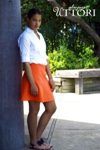 Coral is the perfect summer color! Summer #ootd inspiration. #INTJ #INTJfashion #alwaysuttori