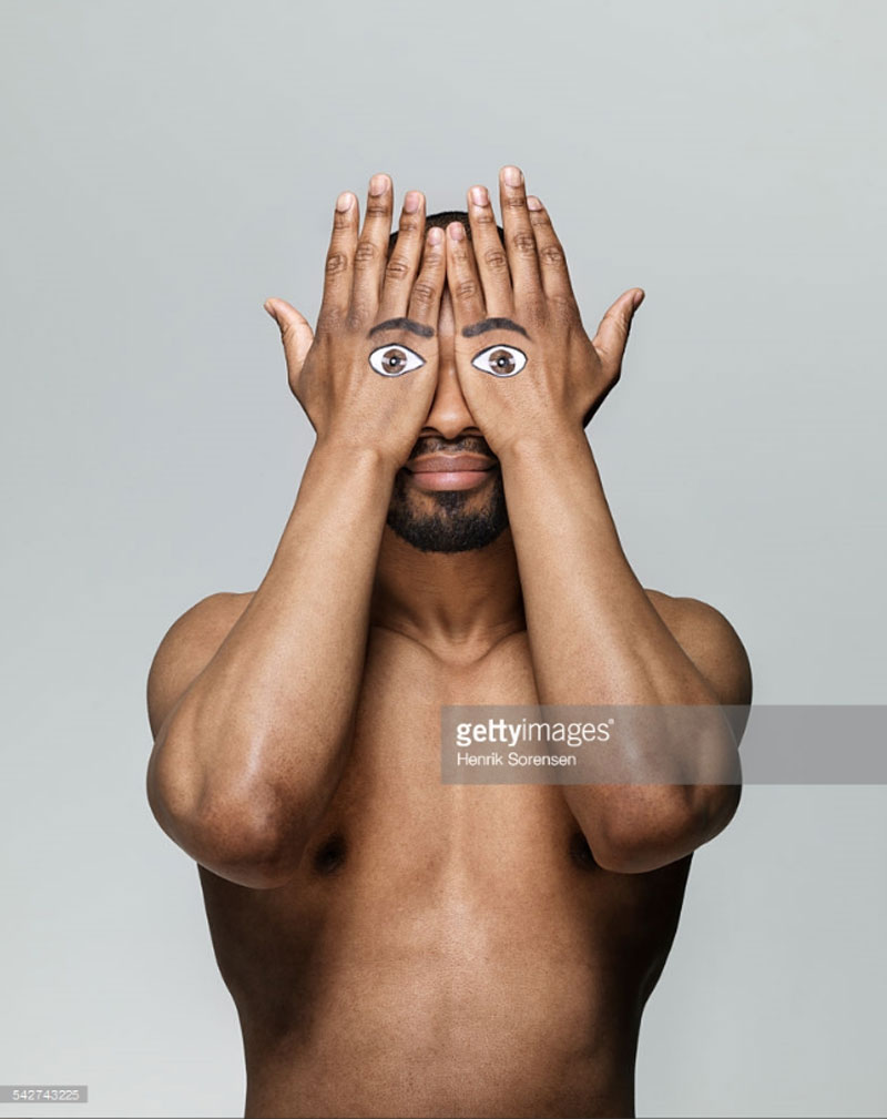 Man with Eyes on his Hands. Photo Credit: Henrik Sorensen – 542743225 via gettyimages.com. Alwaysuttori.com