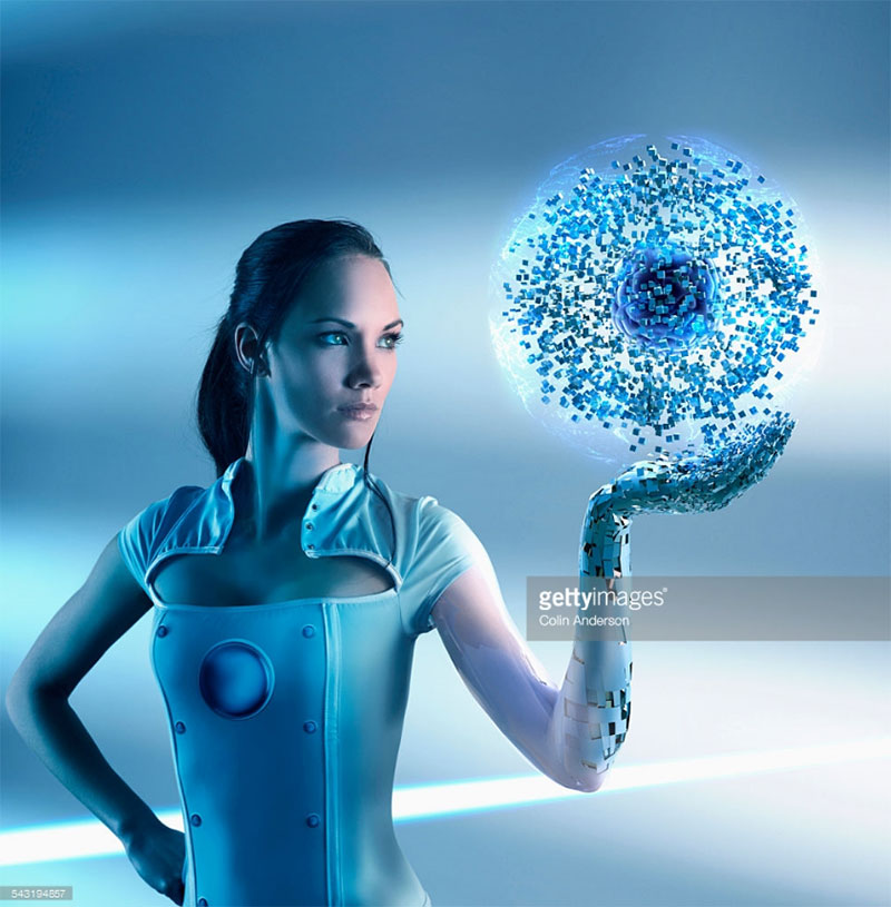 Woman Holding Glowing Particle Orb. Photo Credit: Colin Anderson - 543194857 via gettyimages.com. Alwaysuttori.com