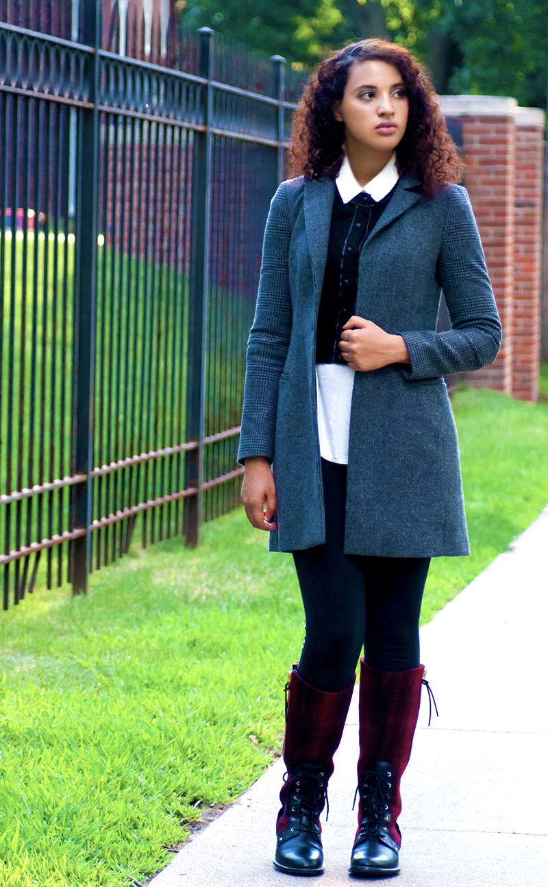 Back-to-College Fashion. Photo Credit: Mechelle Avey. Alwaysuttori.com