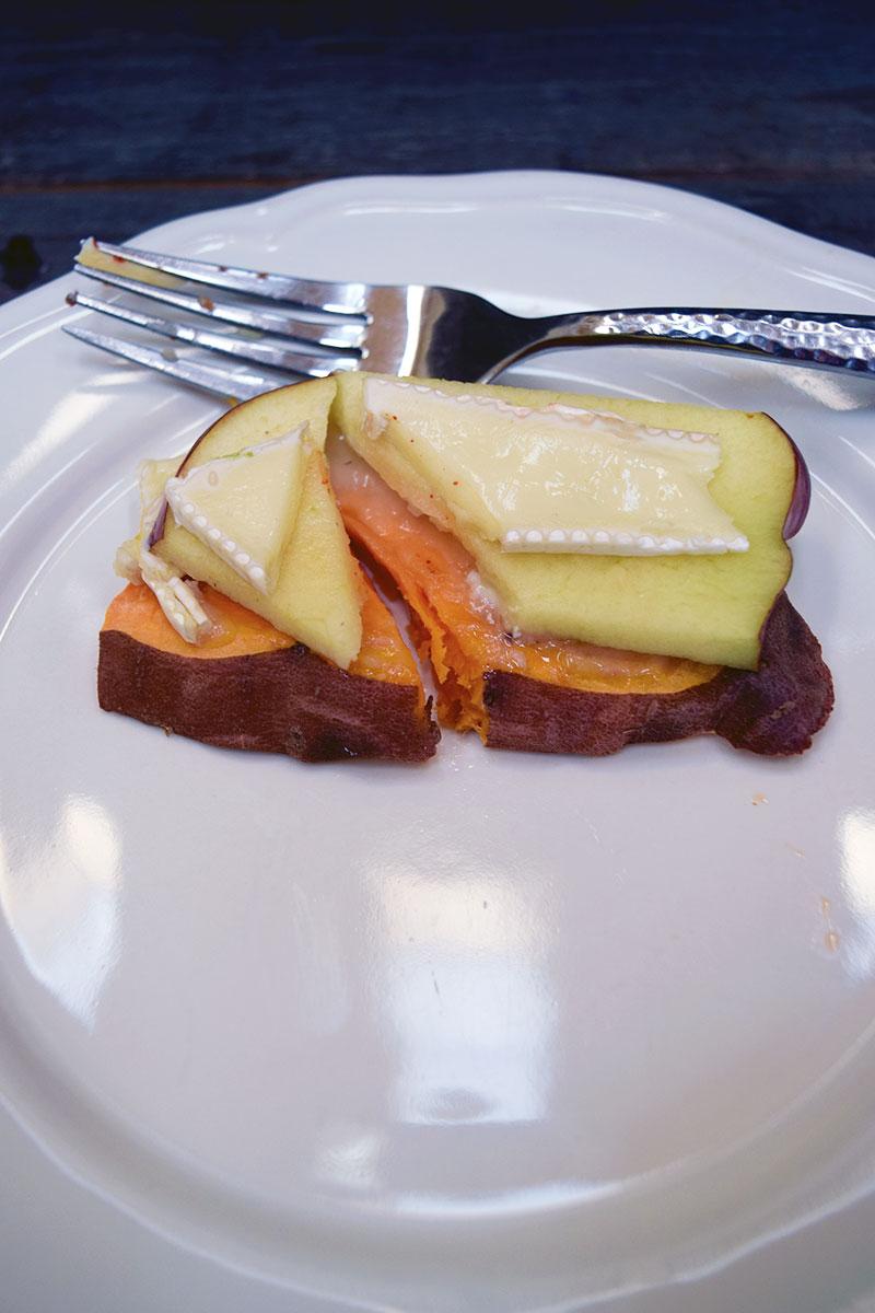 Introvert Eats - 5 Great Sweet Potato Toast Recipes. Photo Credit: I'mari Avey. Alwaysuttori.com