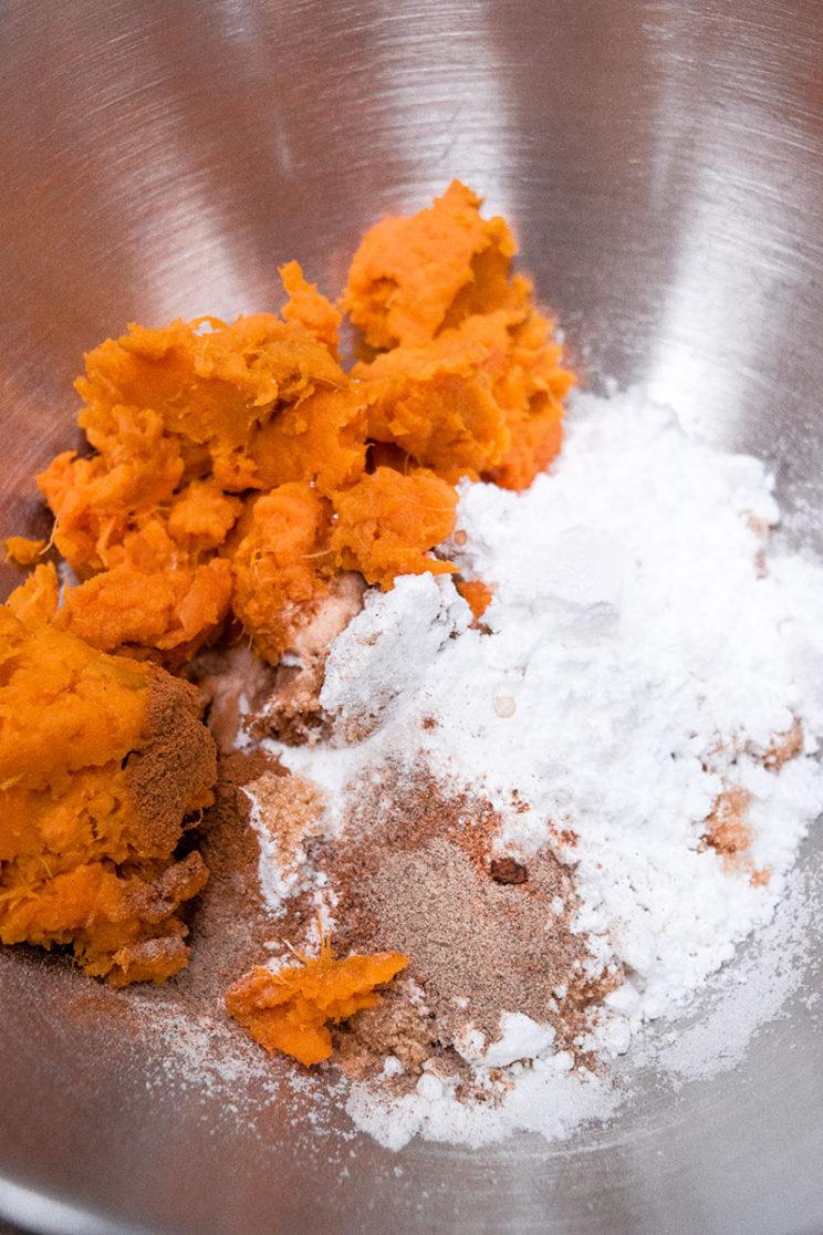 1Introvert Eats - Sweet Potato Recipes, Fritters 1. Photo Credit: I'mari Avey