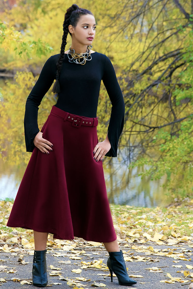 Always Uttori Fall-i-Day Look 3. Photo Credit: Mechelle Avey. Alwaysuttori.com
