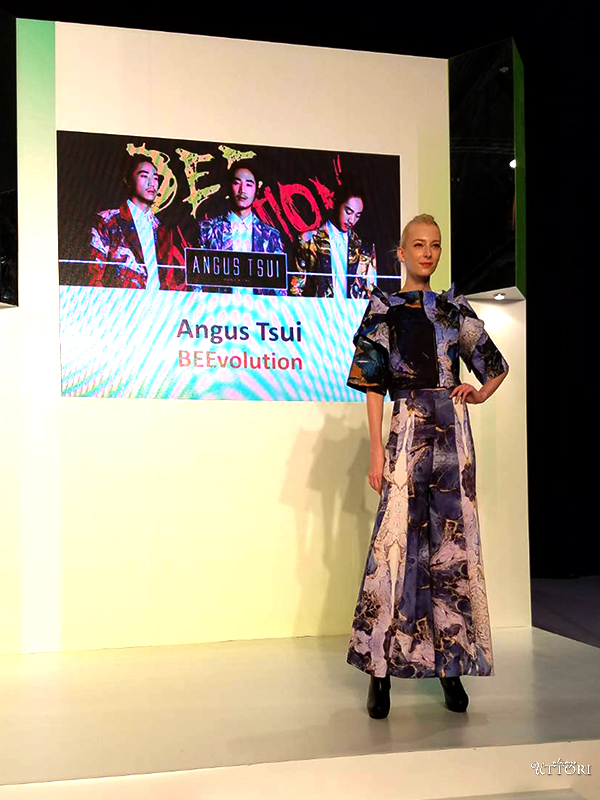 Angust Tsui, Look 3. Photo Credit: I'mari Avey. Global Fashion Outlook 2018. Alwaysuttori.com