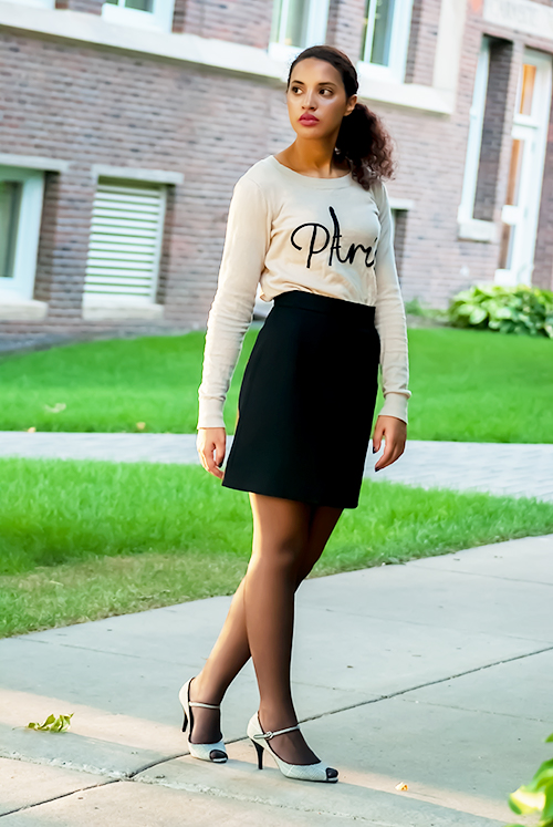 Girl Boss Fierce, L8, P1. Photo Credit: Mechelle Avey. Spring Fashion, Girl Boss Fierce, Look 8. Alwaysuttori.com