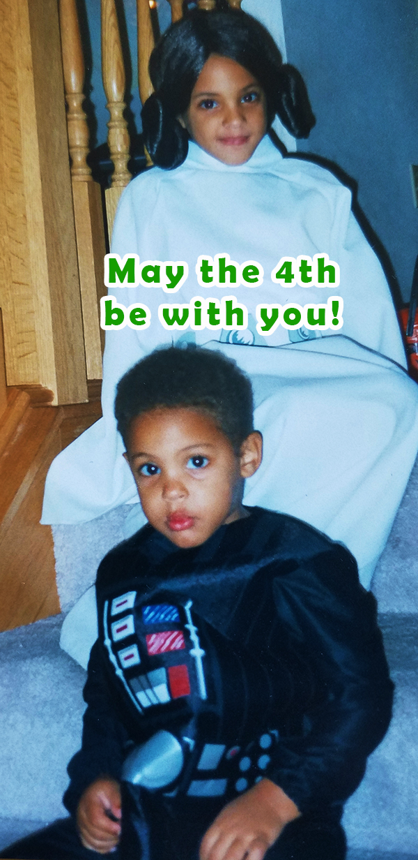 May the 4th be with you! TBT Photo. Photo Credit: The Minnesota Aveys. May the 4th be with you! Alwaysuttori.com.