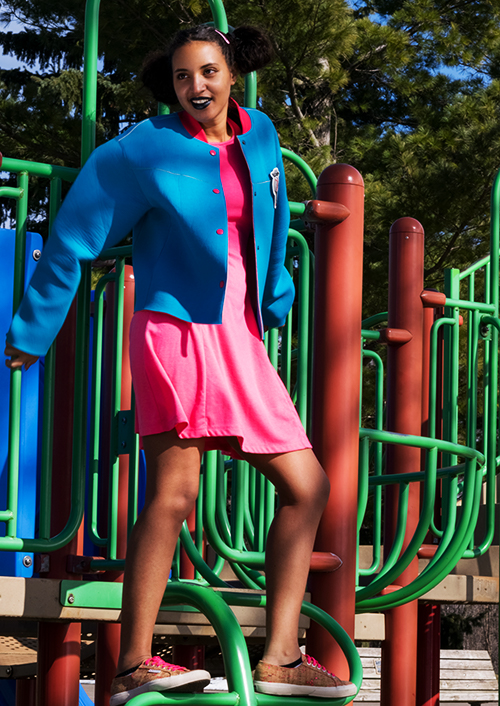 On Trend Summer, Color Bright, L1, P2. Photo Credit: Mechelle Avey. On Trend Summer 2017 Color Bright. Alwaysuttori.com