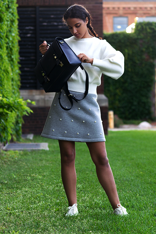 STB Look 4, P2. Photo Credit: Mechelle Avey. Slay The Books Looks Back to School Fashion 2017 Look 4. Alwaysuttori.com