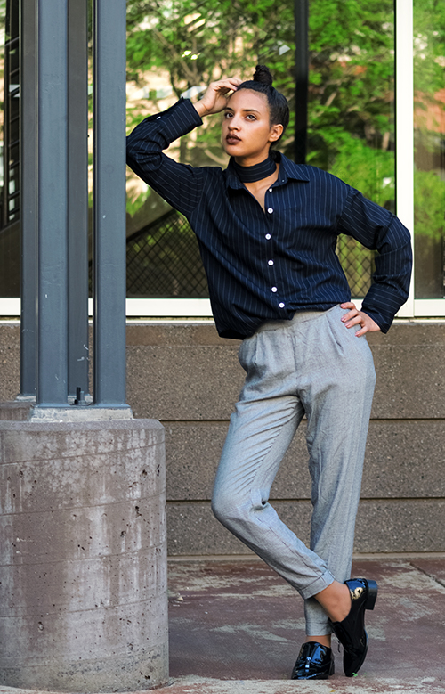STB Look 3, P3. Photo Credit: Mechelle Avey. Slay The Books Looks Back to School Fashion 2017 Look 3 Grown Up. Alwaysuttori.com