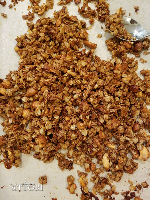 Granola. Photo Credit: Always Uttori. Almost Savannah Coffee Roasters Honey Granola Yogurt Parfait. Alwaysuttori.com