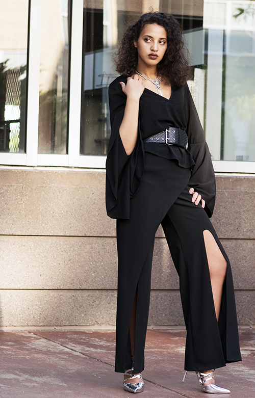 Black and Fab 2. Photo Credit: Mechelle Avey. Bring on the Drama October Fashion | Black and Fabulous. Alwaysuttori.com