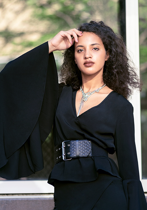 Black and Fab Feature. Photo Credit: Mechelle Avey. Bring on the Drama October Fashion | Black and Fabulous. Alwaysuttori.com