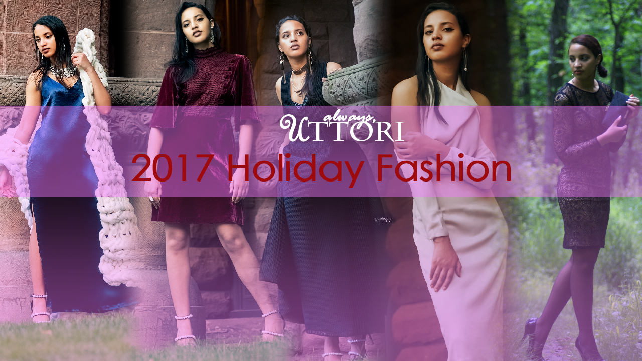 2017 Holiday Fashion. Photo Credit: Always Uttori. Always Uttori Holiday Lookbook. Alwaysuttori.com