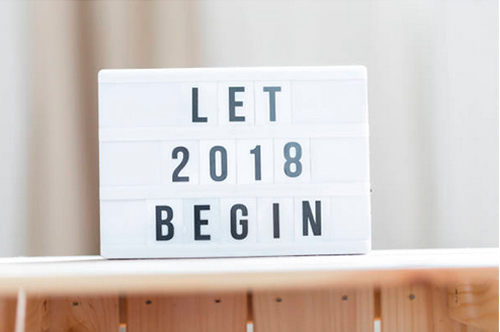 2018 Sign. Photo Credit: Malorny - 882501512. gettyimages.com. 2018 Greetings, 2017 Staff Favorites, and Always Uttori Changes: . Alwaysuttori.com