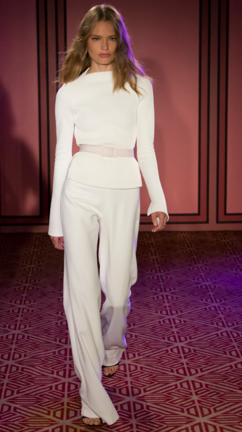 Brandon Maxwell 1. Photo Credit: Vogue.com. Uttori Style | 2018 Spring Transition Fashion. Alwaysuttori.com