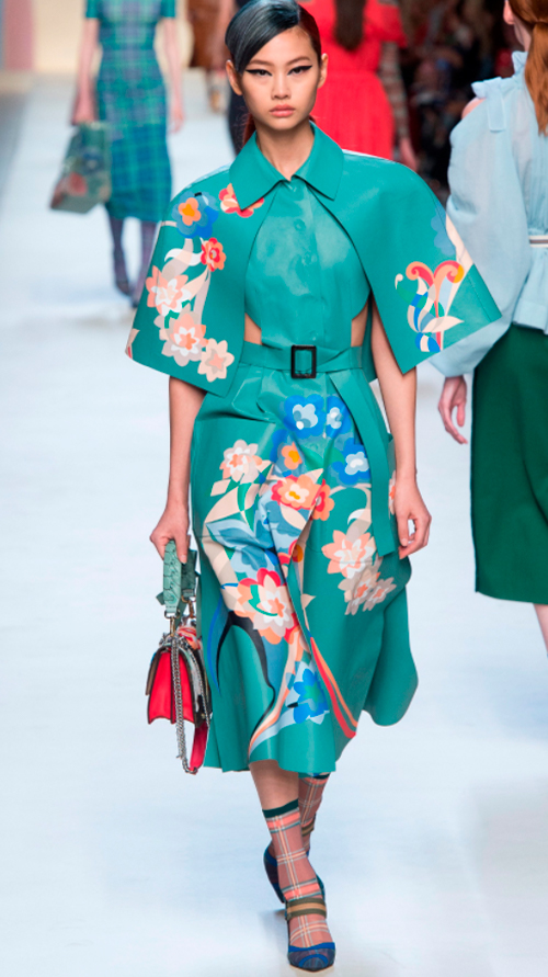 Fendi 1. Photo Credit: Vogue.com. Uttori Style | 2018 Spring Transition Fashion. Alwaysuttori.com
