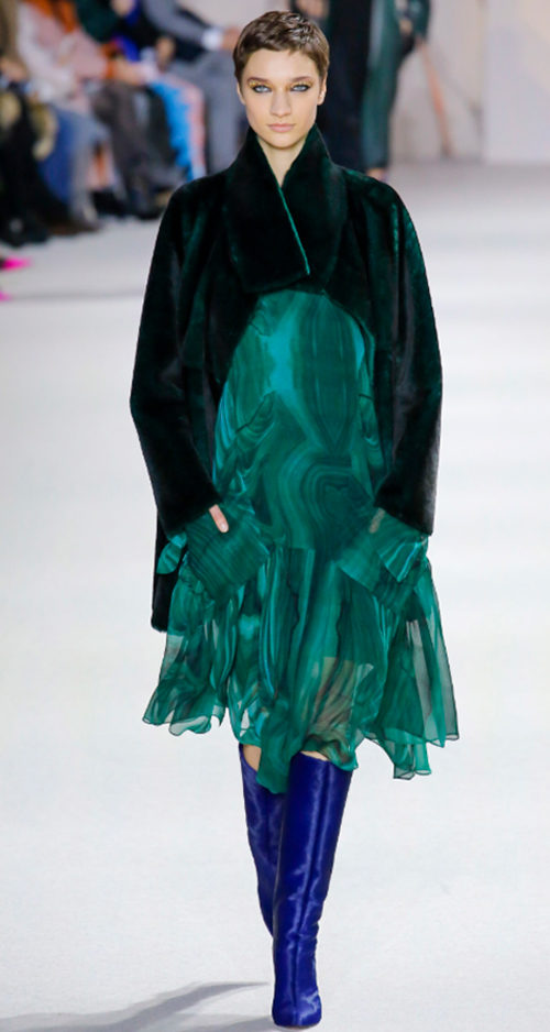 Akris Fall 2018. Photo Credit: Luca Tombolini via Vogue.com. Fall Fashion Guide for INTJ Fashionistas. Alwaysuttori.com.