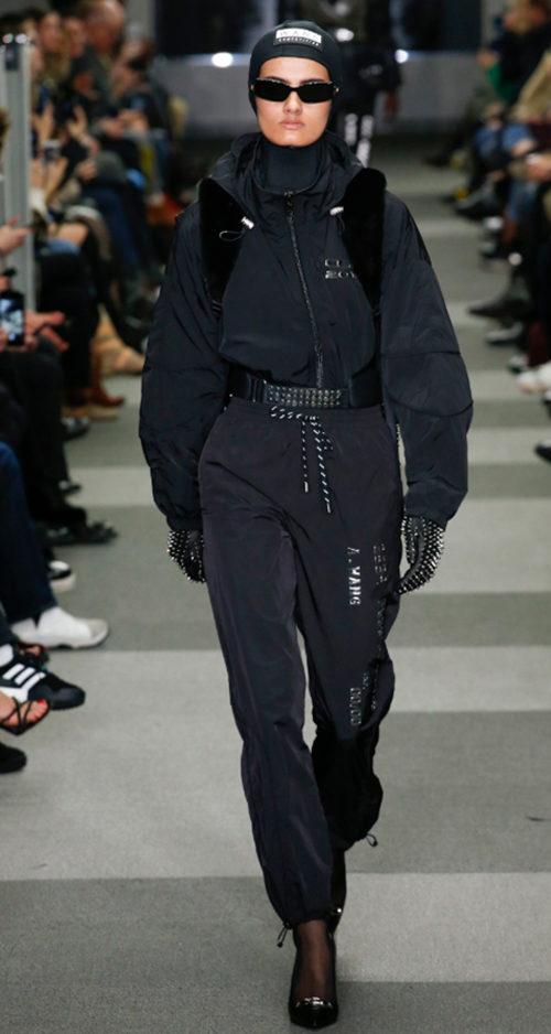 Alexander Wang Fall 2018. Photo Credit: Marcus Tondo via Vogue.com. Fall Fashion Guide for INTJ Fashionistas