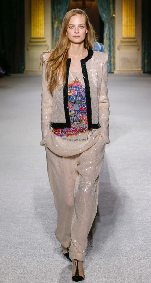Balmain Fall 2018. Photo Credit: Monica Feudi via Vogue.com. Fall Fashion Guide for INTJ Fashionistas. Alwaysuttori.com.