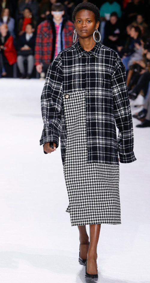 Balenciaga Fall 2018. Photo Credit: Monica Feudi via Vogue.com. Fall Fashion Guide for INTJ Fashionistas. Alwaysuttori.com.