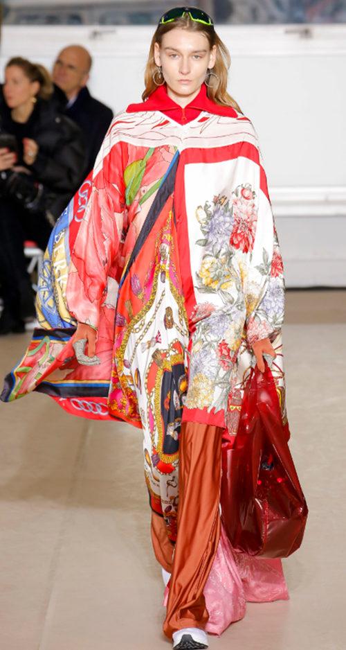 Marine Serre Fall 2018. Photo Credit: Luca Tombolini via Vogue.com. Fall Fashion Guide for INTJ Fashionistas. Alwaysuttori.com.
