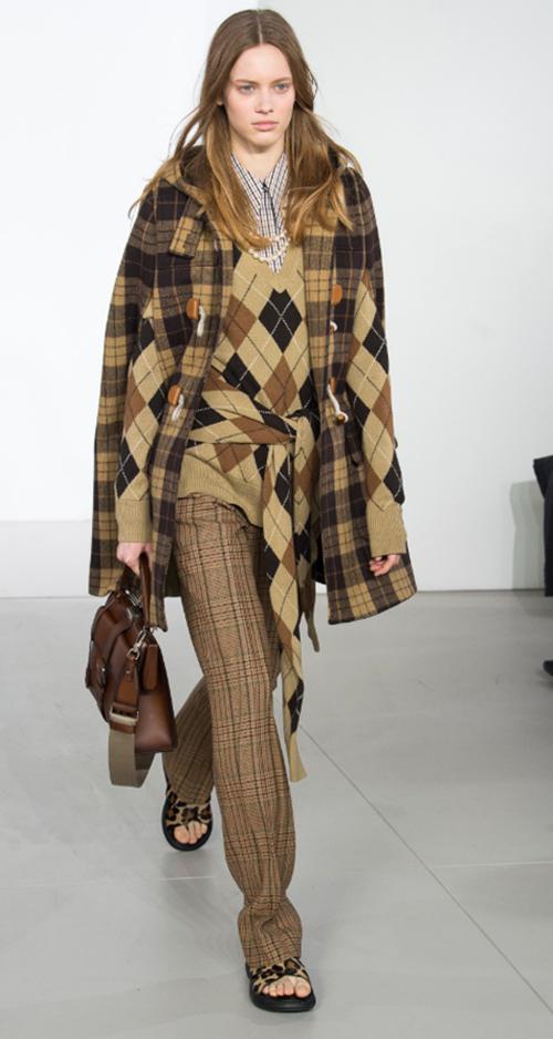 Michael Kors Fall 2018. Photo Credit: Yaniis Vlamos via Vogue.com. Fall Fashion Guide for INTJ Fashionistas. Alwaysuttori.com.