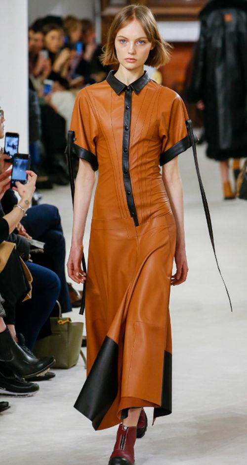 Loewe Fall 2018. Photo Credit: Marcus Tondo via Vogue.com. Fall Fashion Guide for INTJ Fashionistas. Alwaysuttori.com.