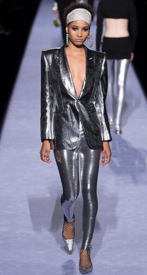 Tom Ford Fall 2018. Photo Credit: Yannis Vlamos via Vogue.com. Fall Fashion Guide for INTJ Fashionistas. Alwaysuttori.com.