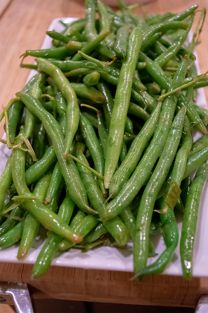 2 vegan holiday sides. Pickled Green Beans. Always Uttori